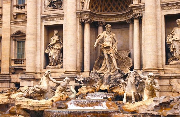 fontana de trevi happysingles
